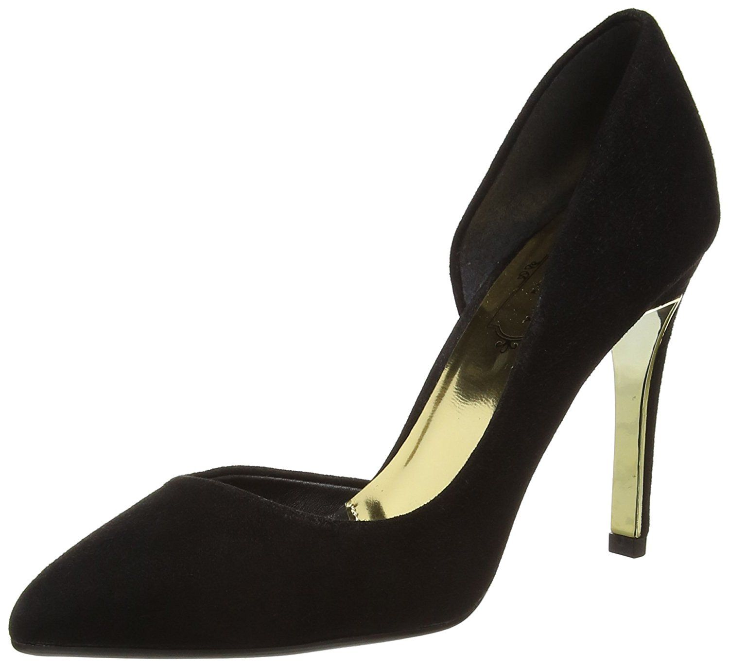 Ted Baker Womens Black Meshi Suede Court Shoes-UK 8 -- Learn more by