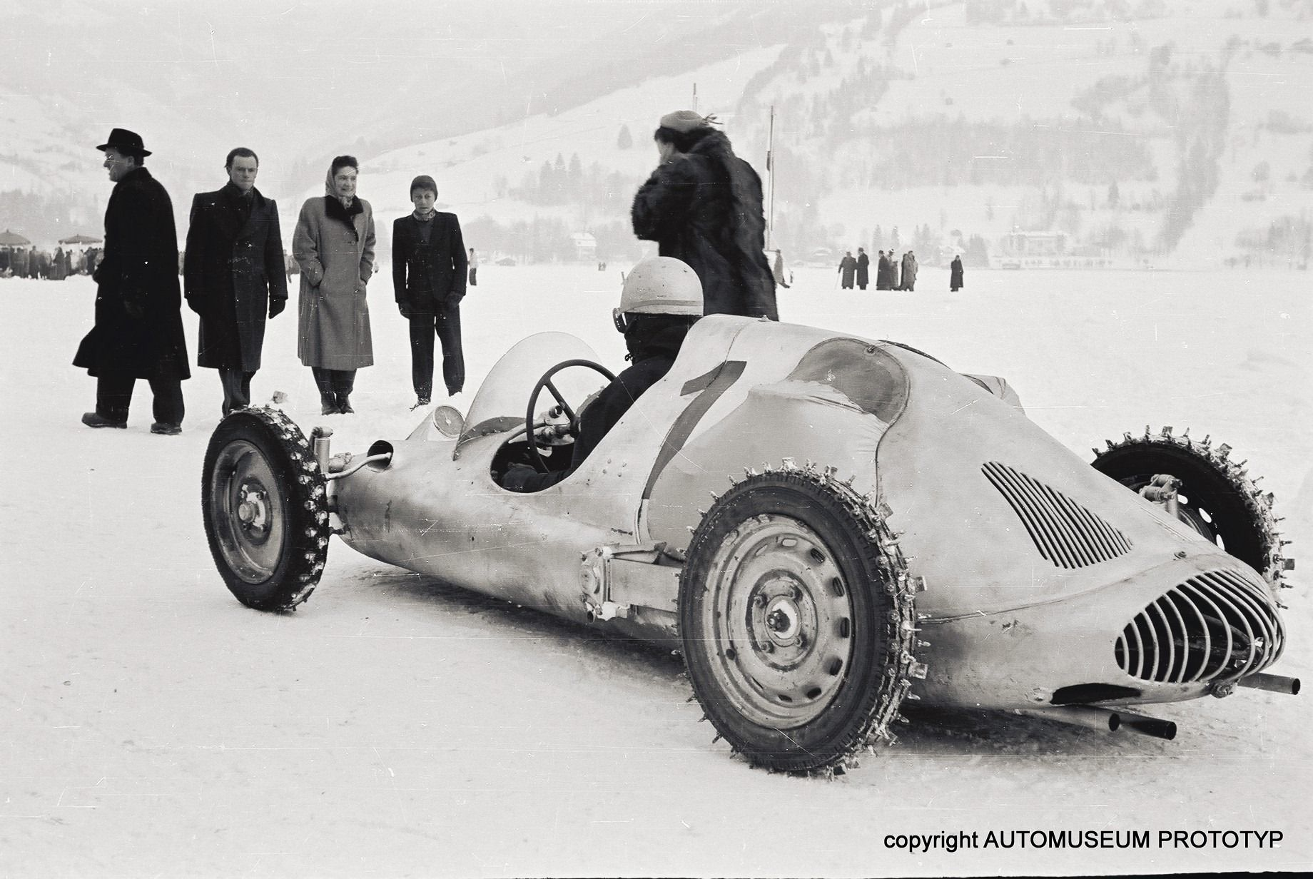 """Otto Mathe's Awesome """"Fitzenfleiger"""" 4 Cam porsche powered single seater . . dirt racer, Ice Racer . . . The original Track Day terror."""