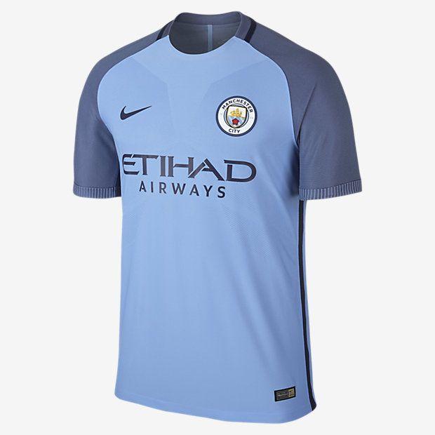2016/17 Manchester City FC Vapor Match Home Men's Soccer Jersey