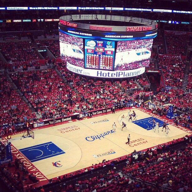 Staples Center Clippers Nation Is All In Los Angeles Clippers La Clippers Staples Center