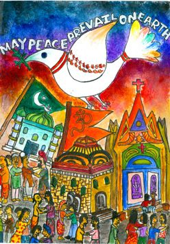Image result for may peace prevail on earth painting