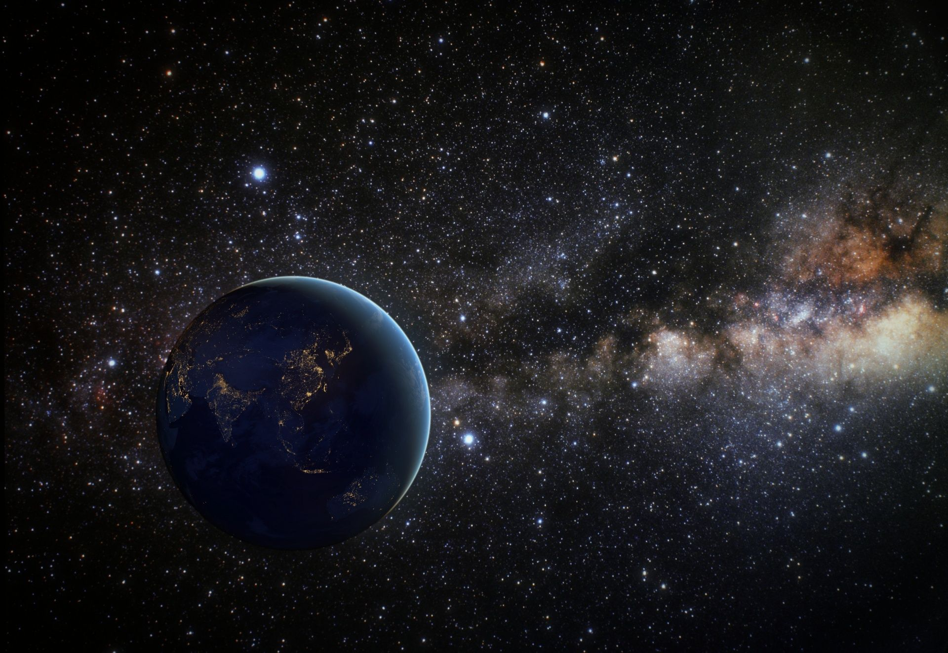 Earth In Space Earth From Space Space Images Free Stock Photos