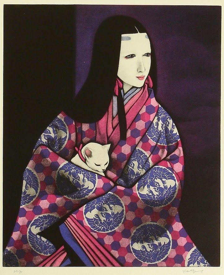 Florilège: KAORU SAITO - PEINTRE - JAPON