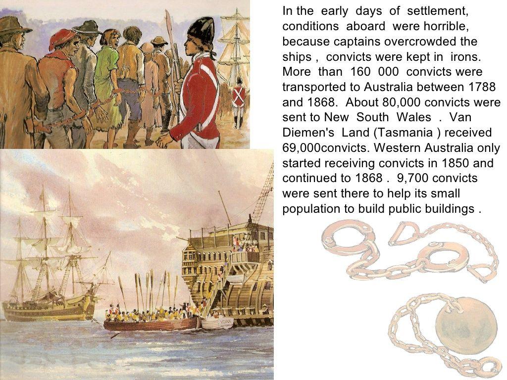 Convicts- Colonisation of Australia