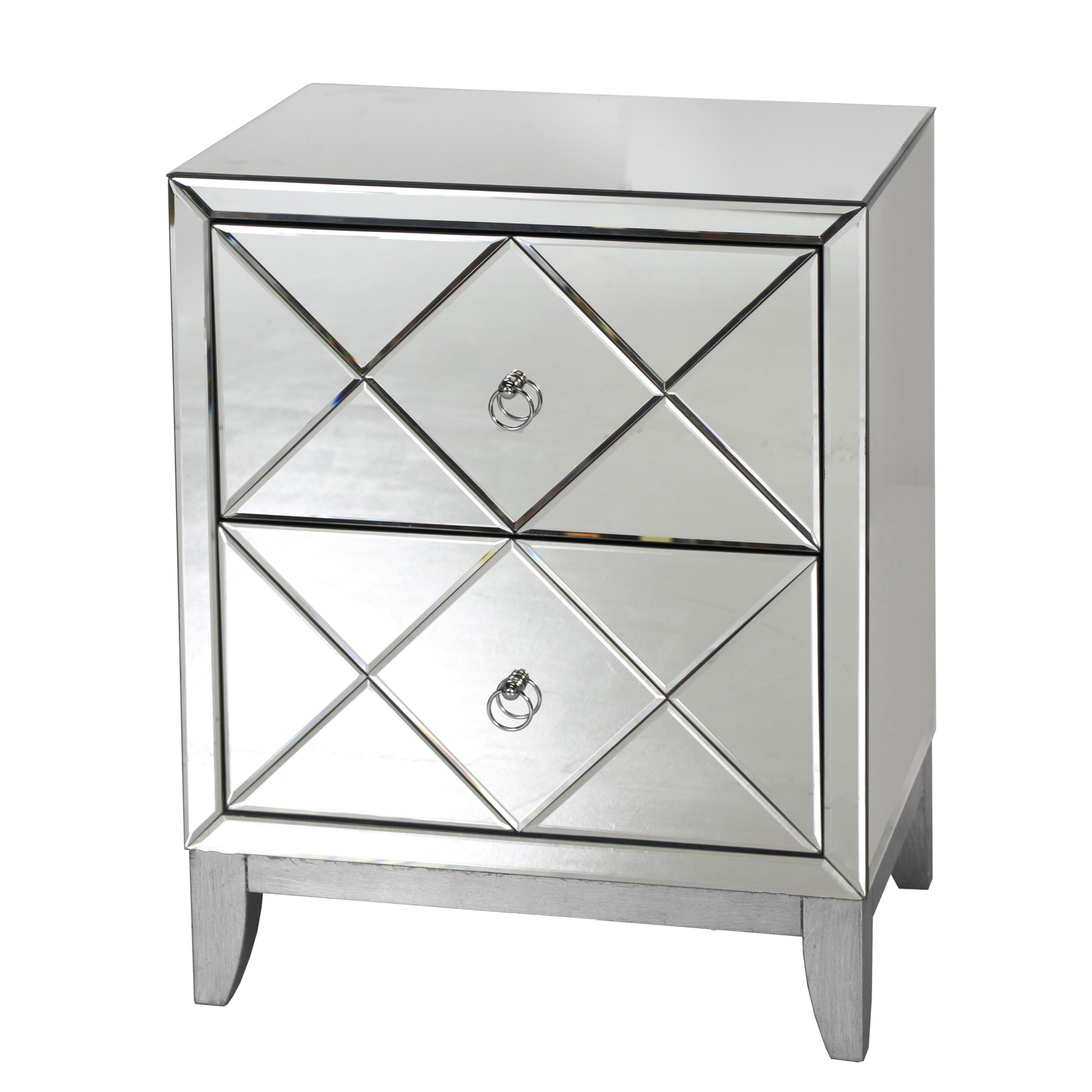 polished collections alan vintage and modern decor in rustic ellis mirror end table contemporary side copper tables