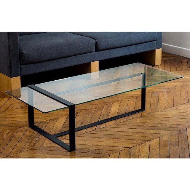 Table Basse Design Verre Et Metal Table Basse Design Table Basse Table Basse Verre