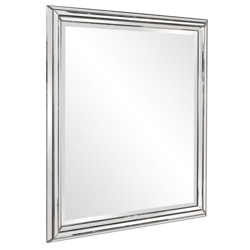 "Howard Elliott 11145 Omni 48"" x 42"" Oversized Modern Mirror Clear Home Decor Mirrors Lighting"