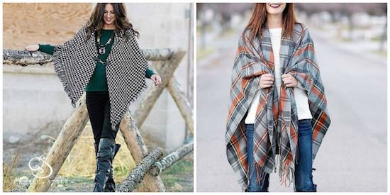 These Oversized Shawls and Ponchos are only $19.95 + Free Shipping | Faithful Provisions