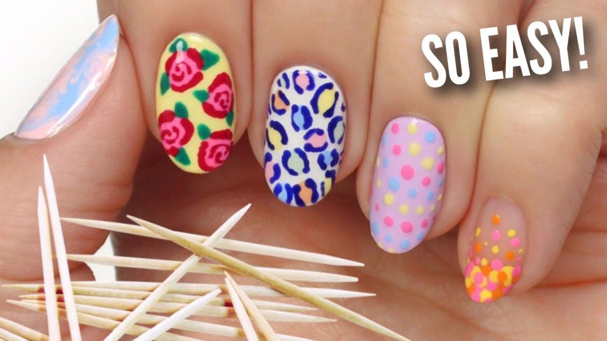 Nail Art For Beginners Using A Toothpick Everything About Women