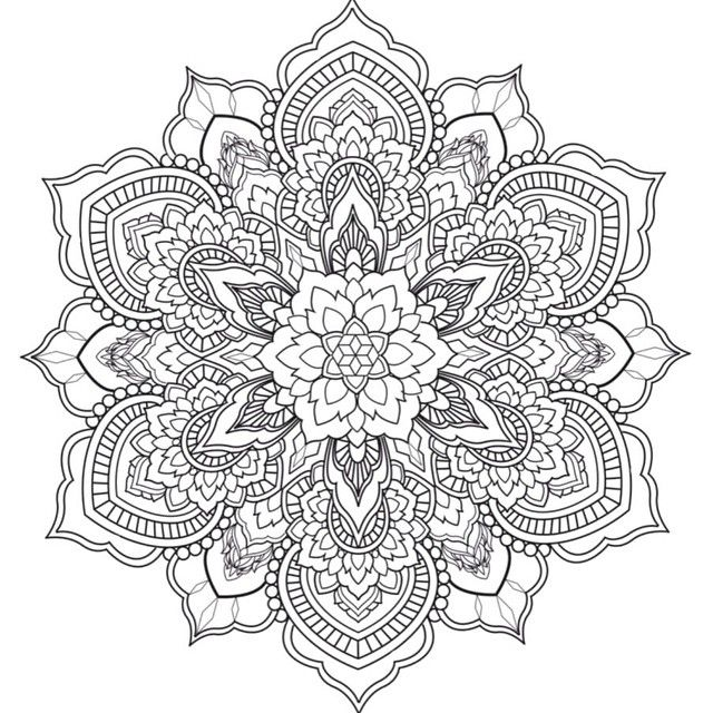 Coreydivine Designed This Mandala Tonight Free Tattoo Enjoygram Mandala Coloring Pages Mandala Coloring Mandala