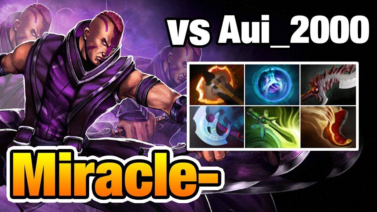 Miracle- [Anti-mage] vs Aui_2000 [Ursa] More Kills But Still