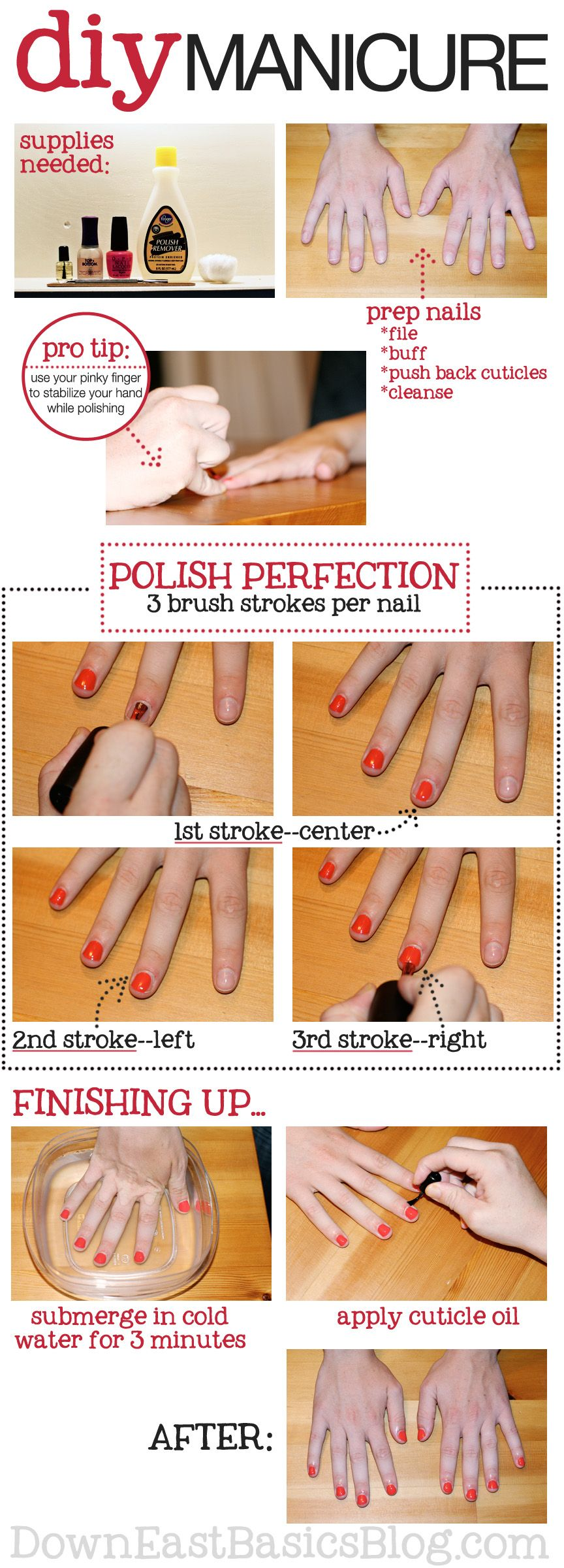 Get perfect nail polish at home do it yourself pinterest get perfect nail polish at home solutioingenieria Images