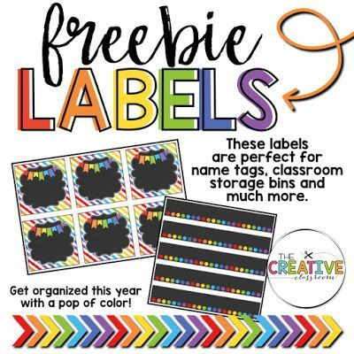 free printable classroom labels for your classroom organization needs these free and editable labels are perfect for any grade level and are great for
