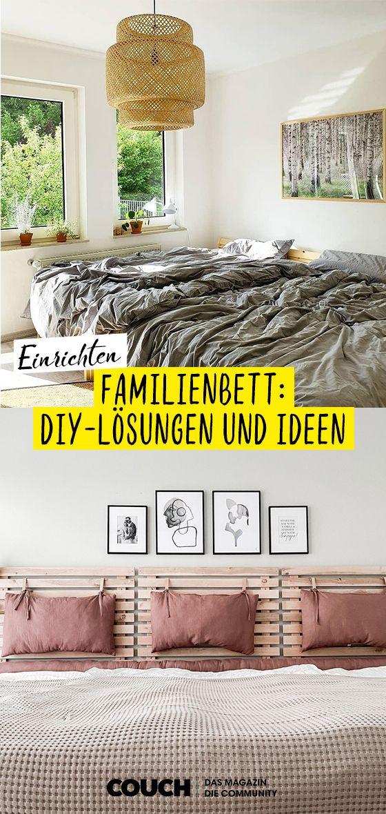 Familienbett: DIY-Lösungen und Ideen