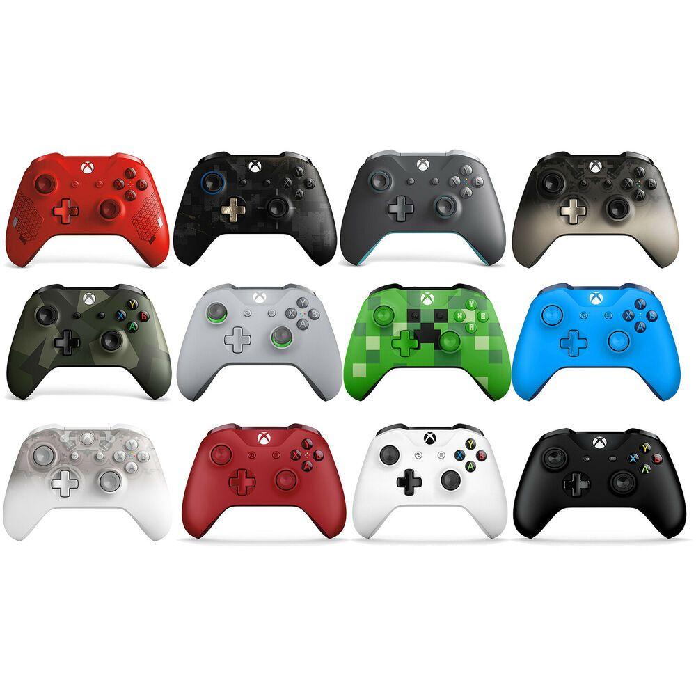 Microsoft Xbox One Bluetooth Wireless Controller Limited Edition ...