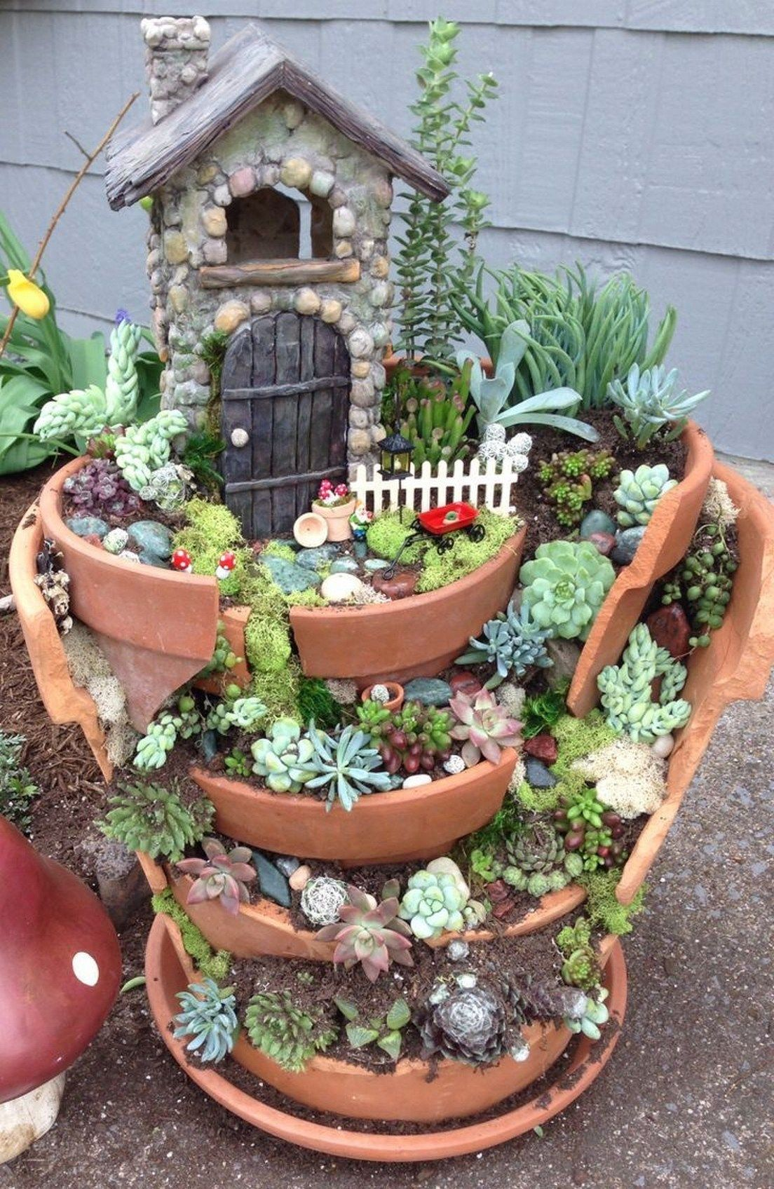 Photo of 43 Beautiful And Easy Fairy Garden Ideas For Kids > Fieltro.Net