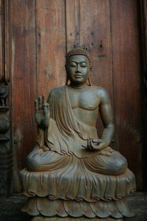 large teaching buddha garden statue garden. Black Bedroom Furniture Sets. Home Design Ideas