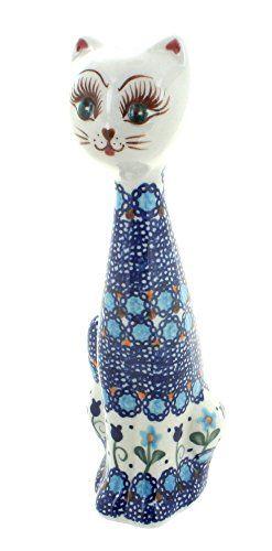 Polish Pottery Savannah Small Cat
