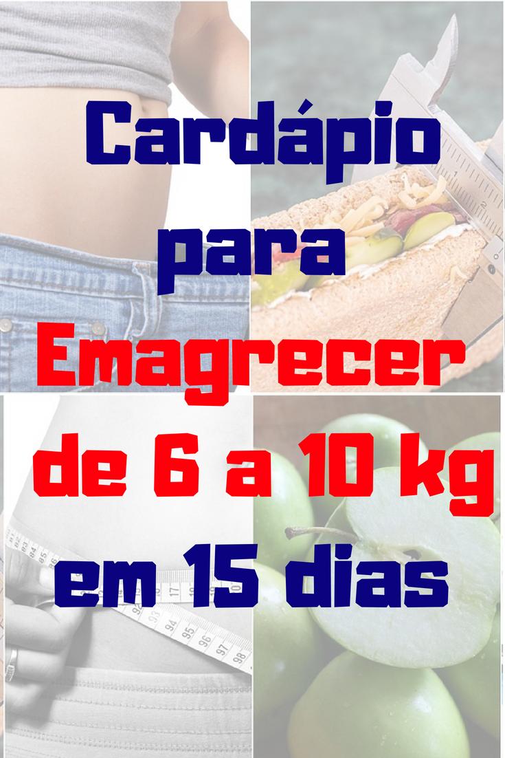 Dieta rapida para perder 10 kilos en 15 dias