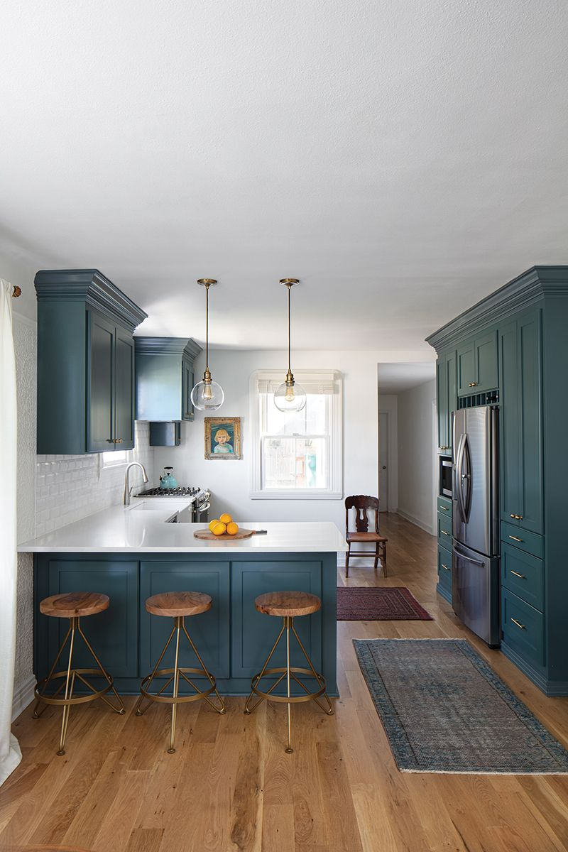 Inspired Kitchens My New Orleans In 2020 White Beveled Subway Tile Quartz Backsplash Kitchen And Bath Design