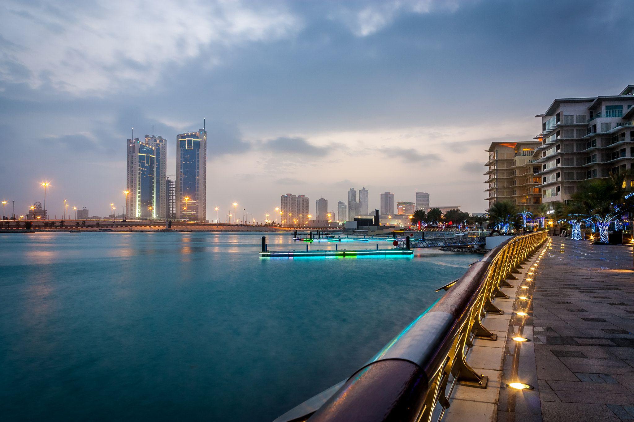 Reef Island A Shot In Reef Island Around Sunset Bahrain Bahrain City Island Travel Around