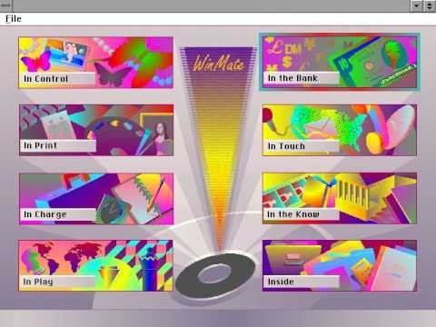 Tandy Sensation Demo - WinMate