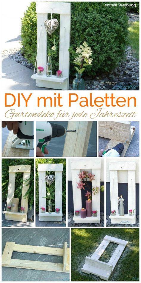 Basteln mit Twercs | DIY mit Paletten Gartendeko ⋆ einfach Stephie