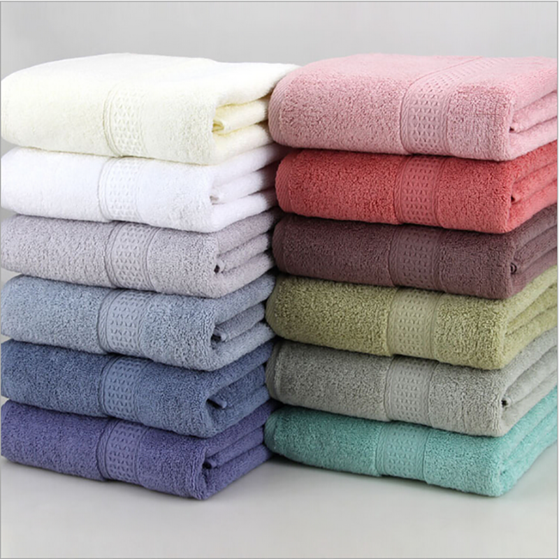Home Textile Beach Highly Absorbent Face Towel Adults Bathroom Soft Cotton