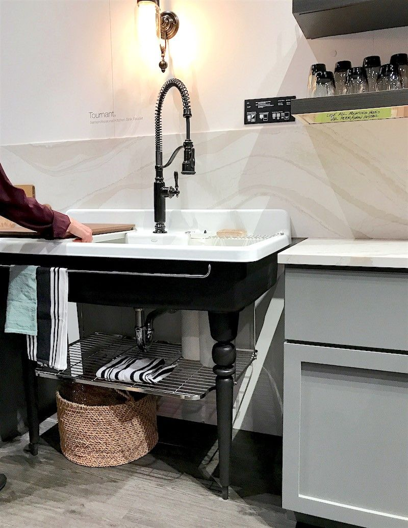 Surprising Discoveries At The Kitchen And Bath Show 2019 Touchless Kitchen Faucet Kitchen Remodel Kitchen And Bath Design