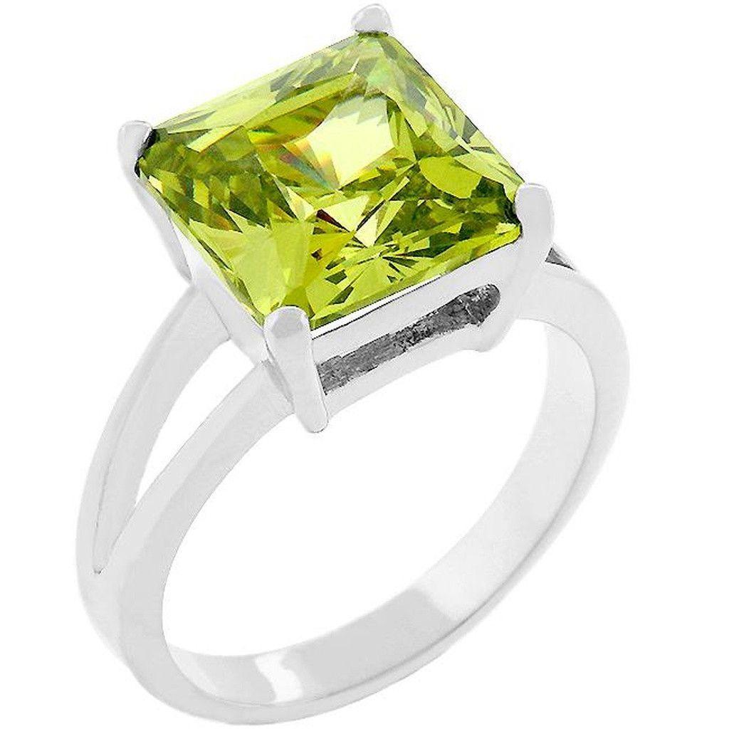 J Goodin Cubic Zirconia Gypsy Ring Size 9