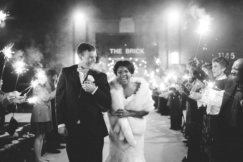 Wedding at The Brick in South Bend Michigan wedding