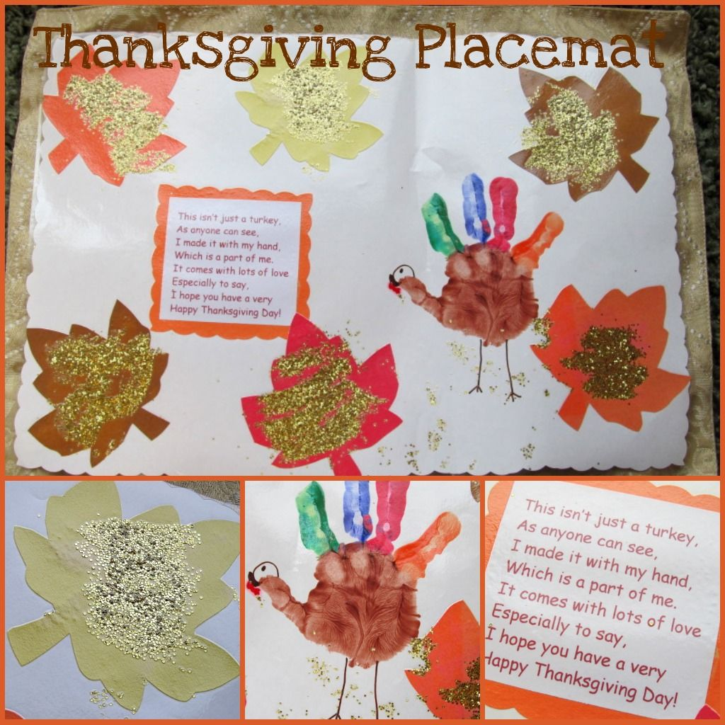Turkey Hand Print Placemat Things To Share And Remember Thanksgiving Placemats Thanksgiving Crafts Preschool Thanksgiving Placemats Preschool