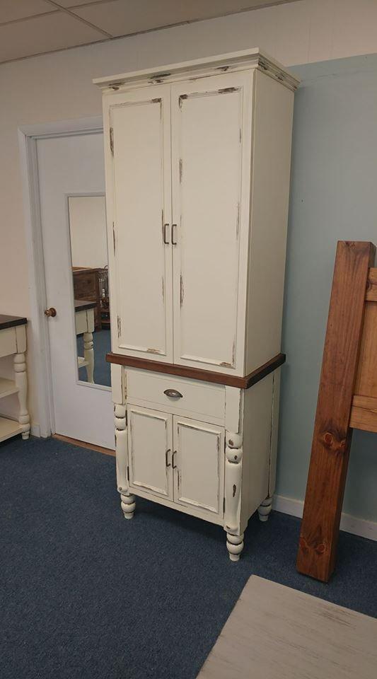 Rustic Farmhouse Pantry Cabinet   Farmhouse Furniture