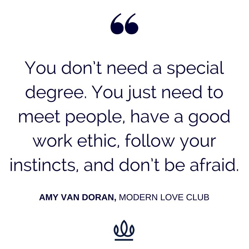 Amy van doran matchmaker