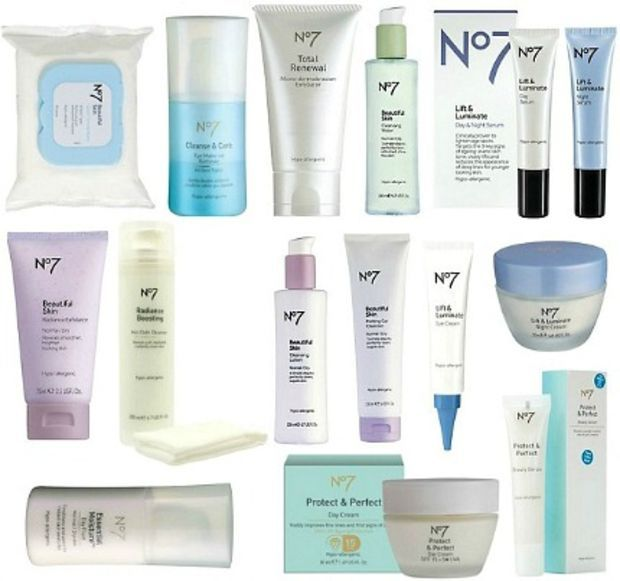 Boots No 7 No7 Skincare Healthy Glowing Skin Cheap Skin Care Products