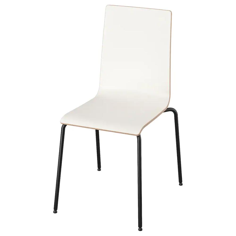 Martin Stuhl Schwarz Weiss Ikea Chair Henriksdal Chair