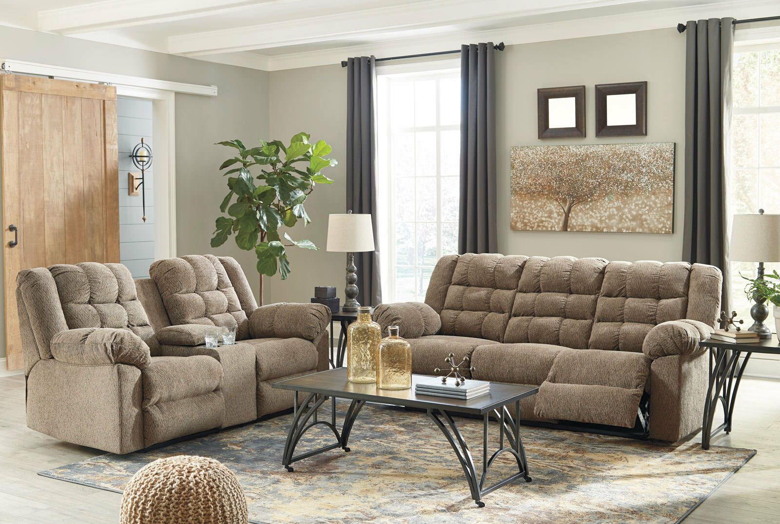 New Miller Living Room Furniture Brown Fabric Reclining Sofa Couch Loveseat Set Sofas Living Room Ideas O Couch And Loveseat Set Living Room Sofa Furniture