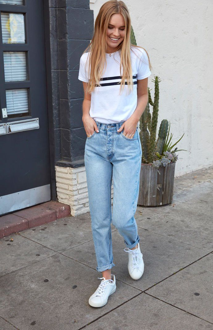 Light Blue Wash Straight Leg Jeans | Straight leg jeans