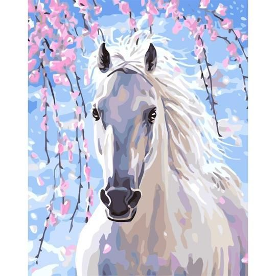 Lonely Horse Canvas Print 20*30 Inch HUGE !
