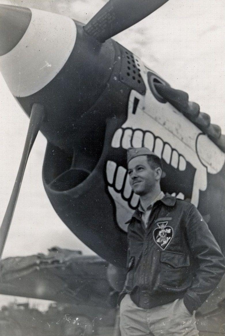 LT Philip R. Adair - Burma Banshee 89th Squadron
