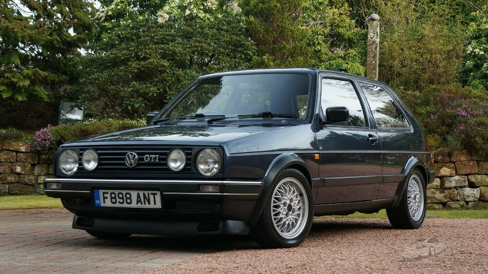 Ad 1988 Volkswagen Golf Gti 8v 3dr Helios Blue Very Clean Low Keepers