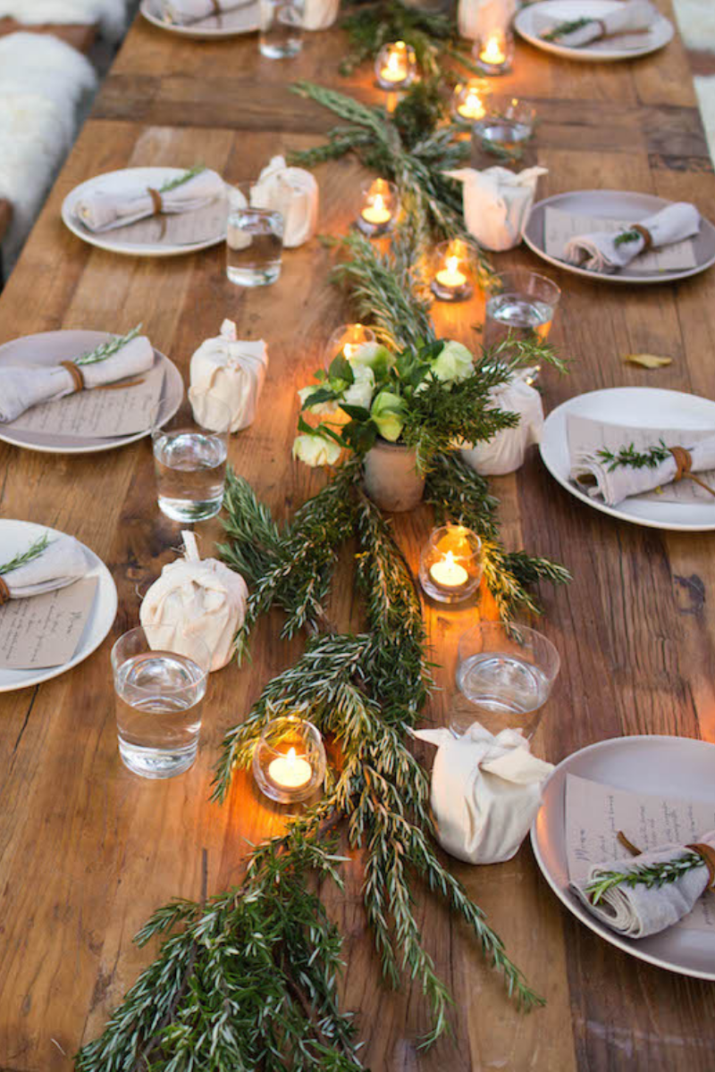 Last Minute Rosh HaShanah Centerpieces {10 easy ideas to beautify your dinner table} - Kasheribbean
