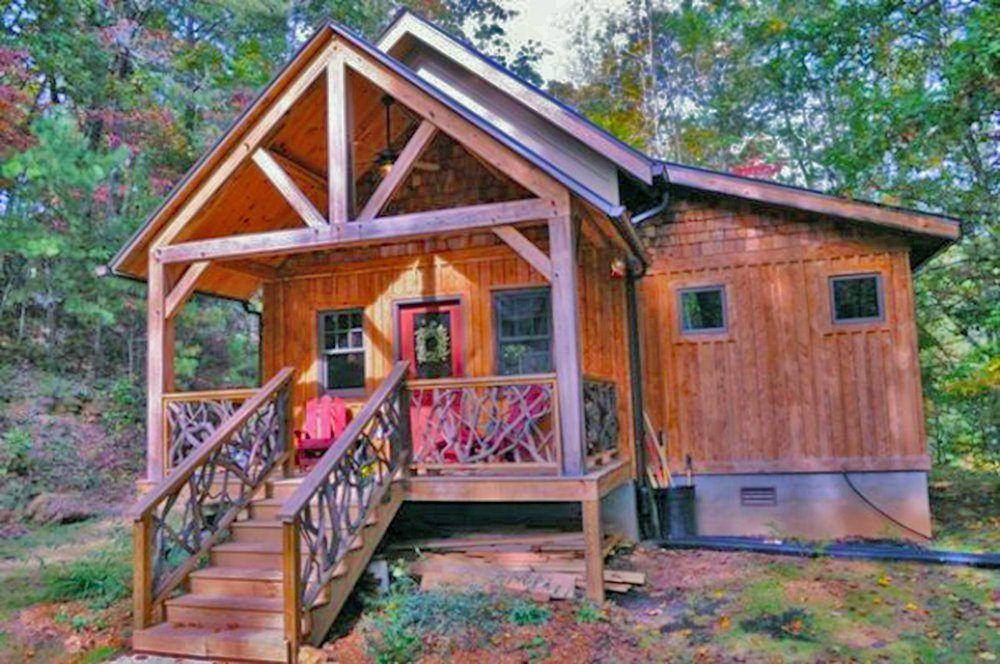 The 12 Best Tiny Houses You Can Buy On Amazon Timber Frame Cabin Best Tiny House Small House