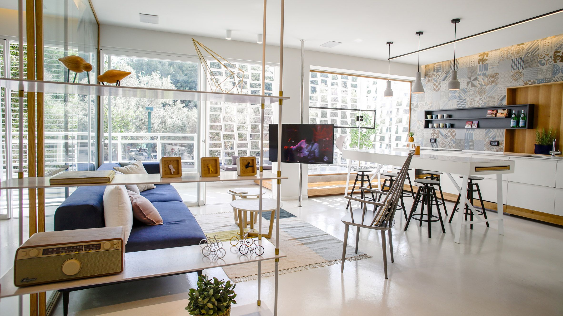 Dori updates 1950s apartment in Tel Aviv with open-plan spaces and ...