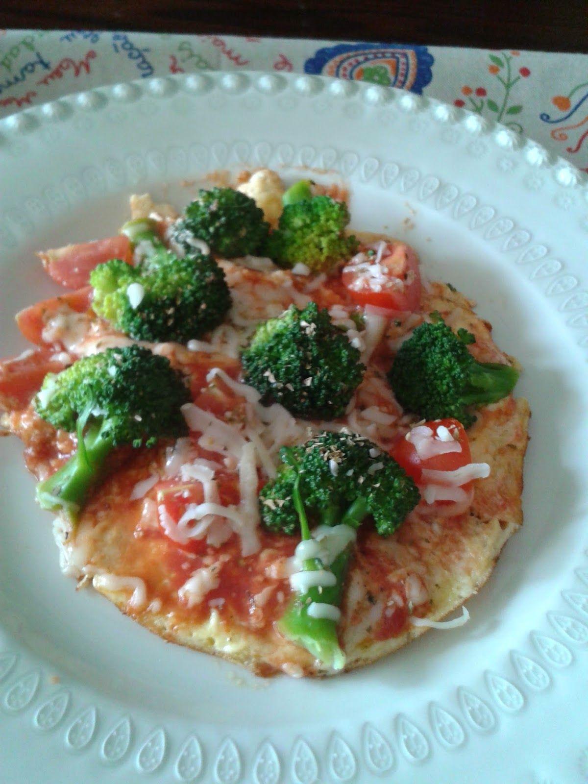 Na Cozinha da Té: Refeição rápida Piza sem massa   Quando eu e a min...