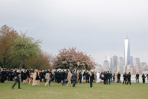 Ellis Island Wedding by Joy Proctor Events