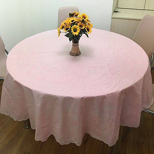 Large Round Table Cloth.Znzbztthick Waterproof Large Round Table Cloth Home Hotel Waterproof