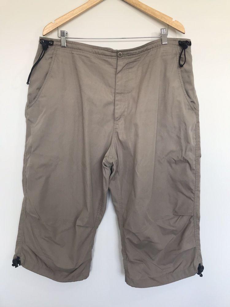 ce68e7c841 Rockport Beige Casual Shorts Mens XXL Size 2XL #fashion #clothing ...