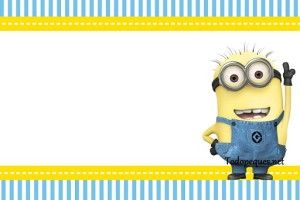 photograph relating to Free Printable Minions Birthday Card called Pin as a result of Ella upon letters Minion birthday invites, Minion
