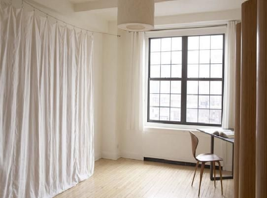 Using curtains as room dividers it comes to using - Room divider curtain ideas ...